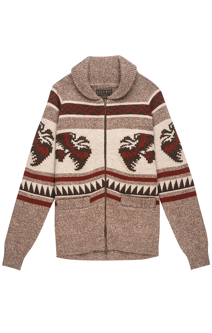 Cowichan Zip Up Cardigan