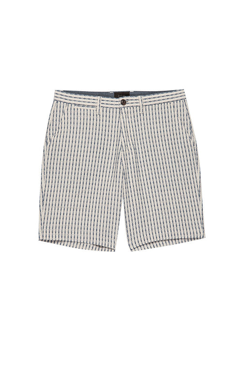 Dobby Striped Cotton Linen Short