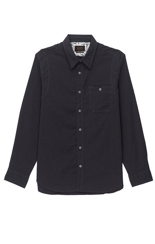 Indigo Stretch Chambray Shirt