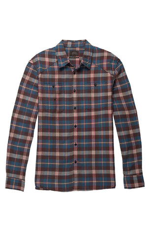 Red Buffalo Check Wool Blend Jacket