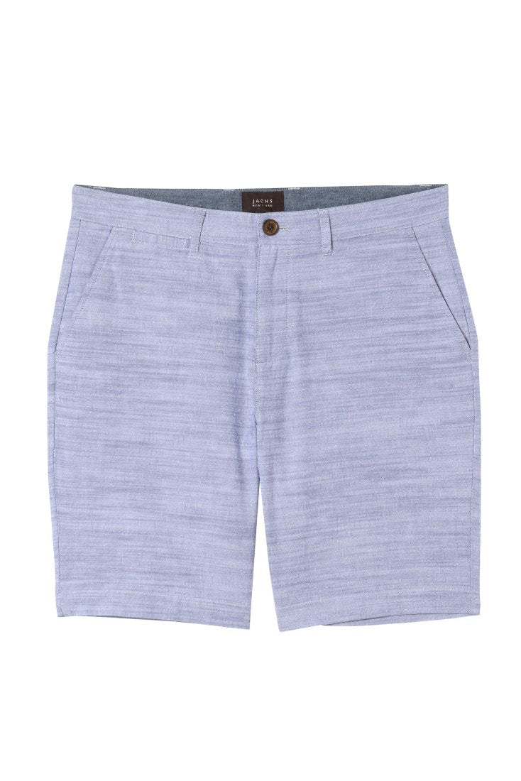 Blue Slub Chambray Short - jachs