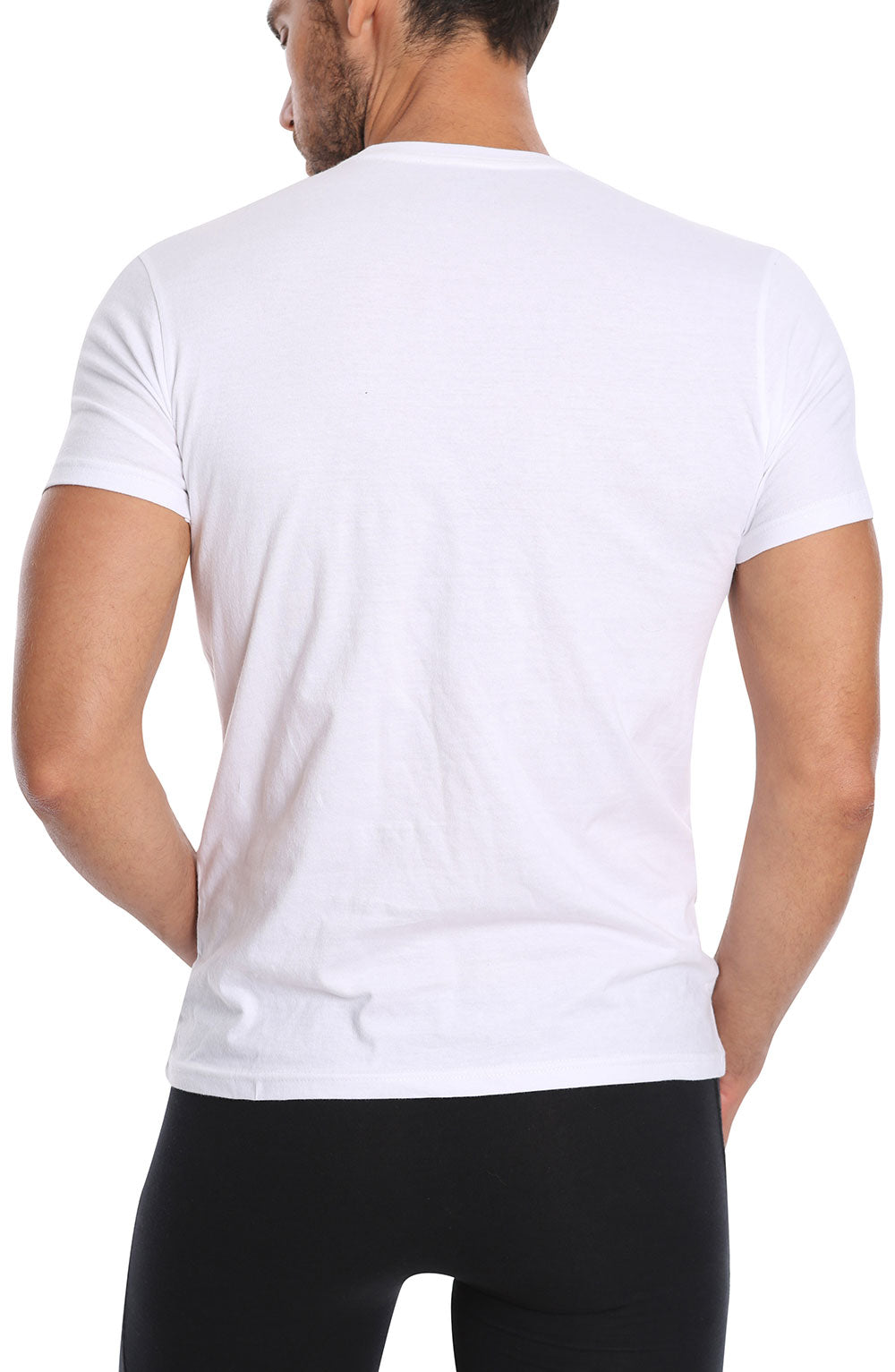White 3-Pack V-Neck T-Shirt