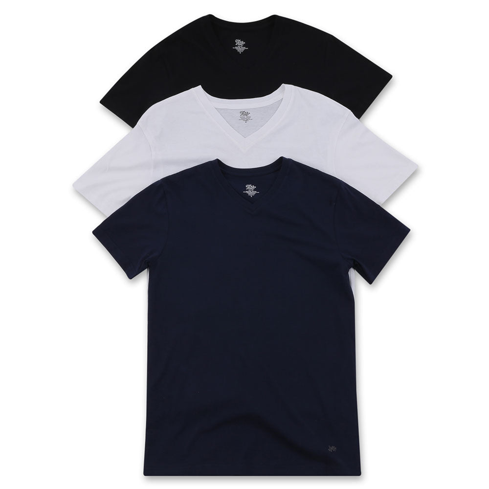 Multi-Color 3-Pack V-Neck T-Shirt - jachs