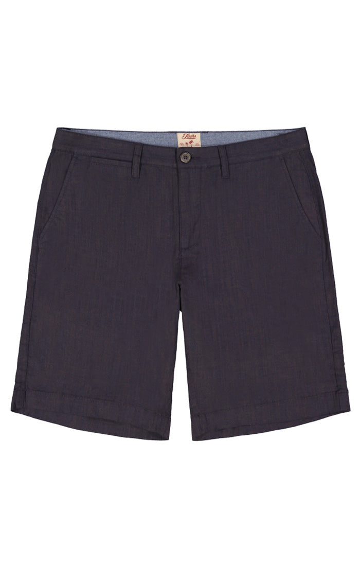 Indigo Stretch Chambray Short