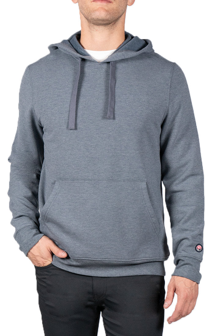 Blue Soft Touch Pullover Hoodie