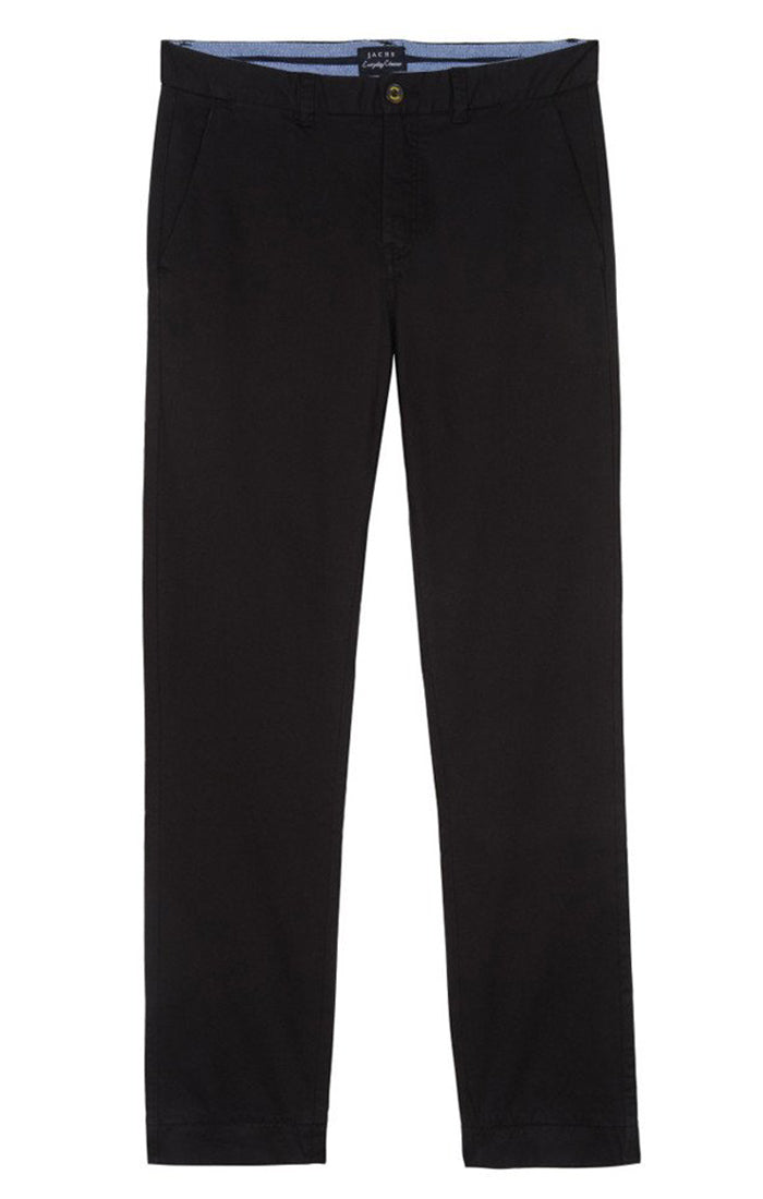 Black Bowie Stretch Chino Pant - jachs