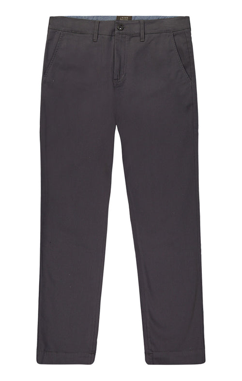 Charcoal Bowie Stretch Chino Pant - jachs