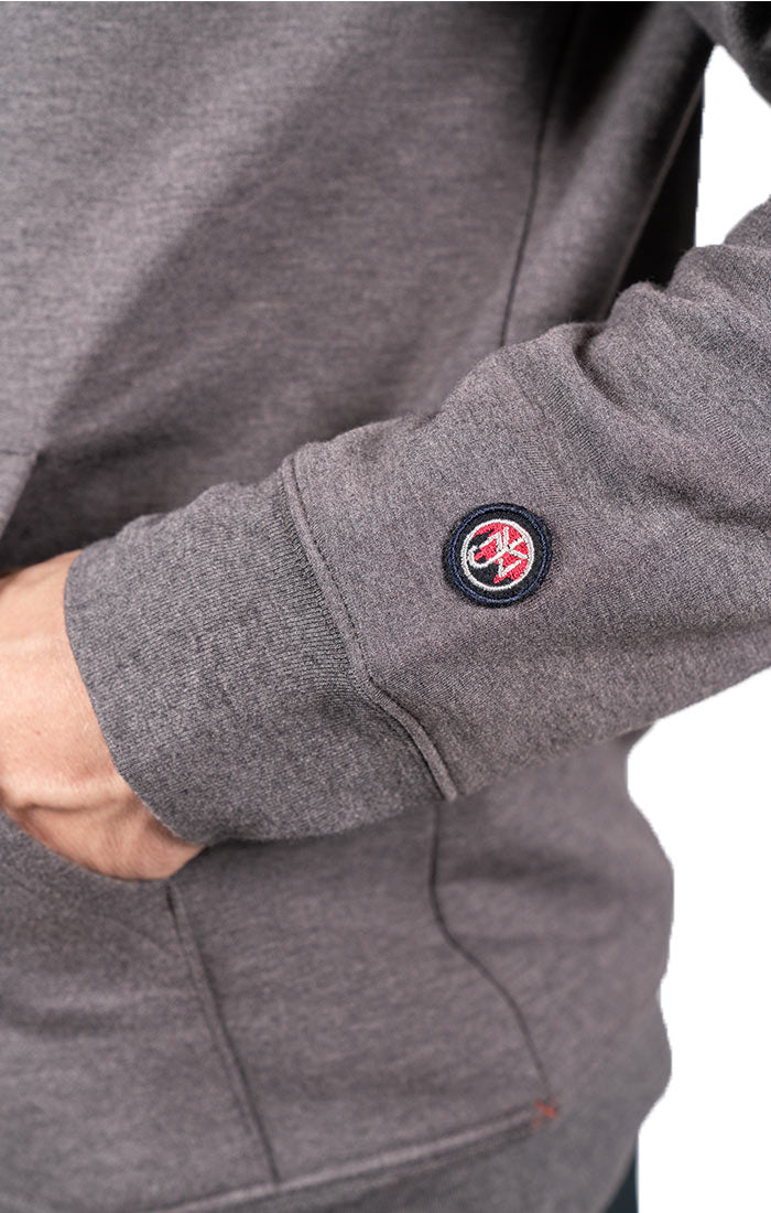 Charcoal Soft Touch Pullover Hoodie - JACHS NY