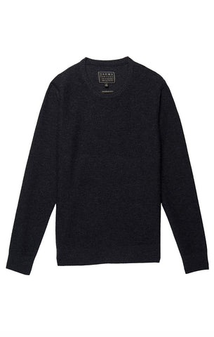 Charcoal Melange Roll Neck Sweater