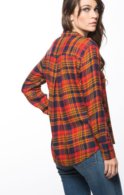 Red SofBlend Plaid Flannel