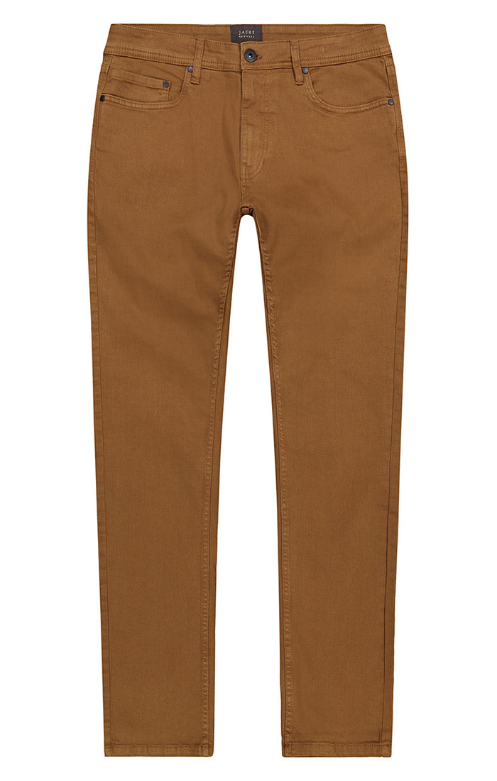 Copper Straight Fit Stretch Twill Pant - jachs