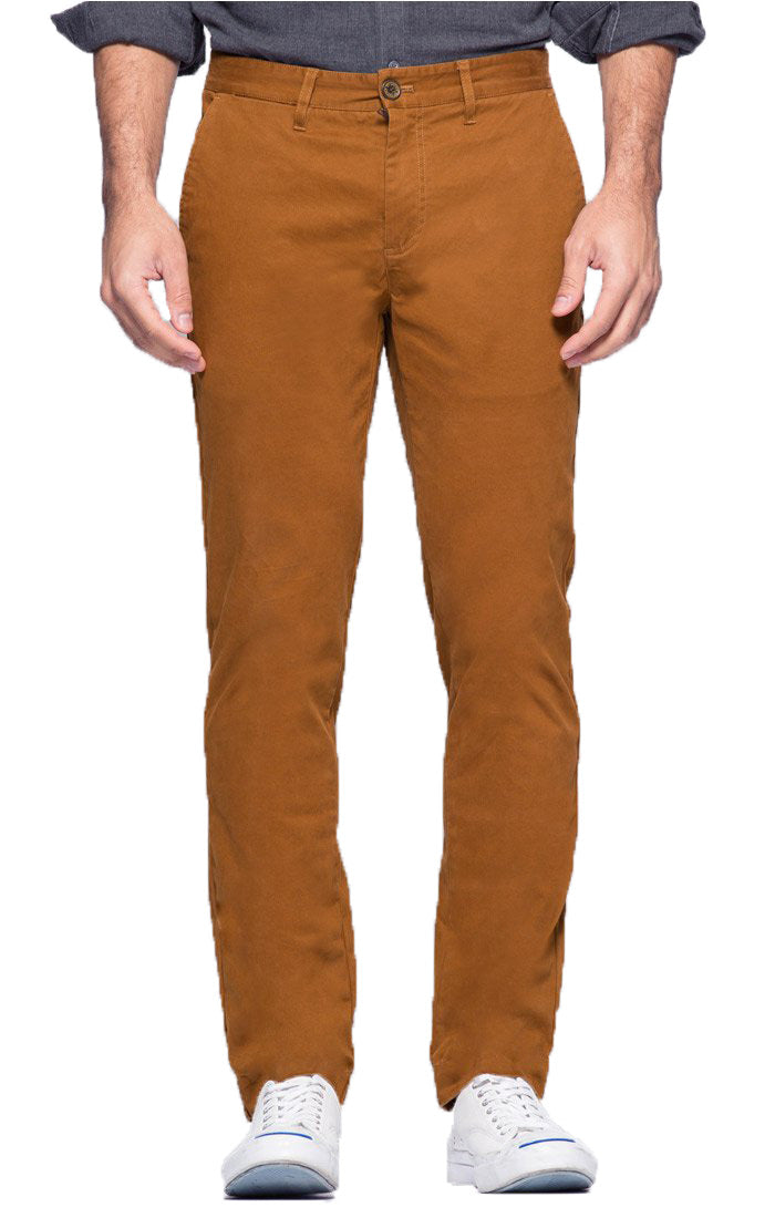 Copper Straight Fit Stretch Bowie Chino - jachs