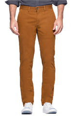 Copper Straight Fit Stretch Bowie Chino - JACHS NY