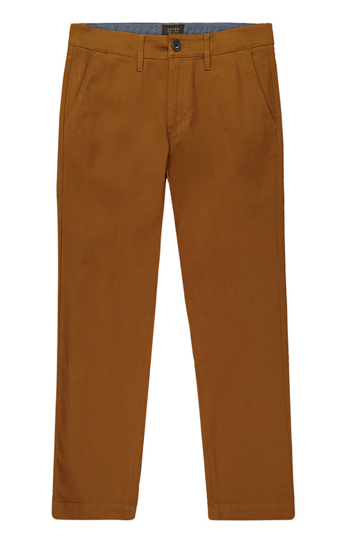 Copper Bowie Stretch Chino Pant - jachs