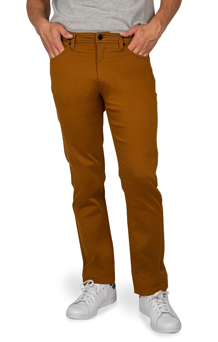 Copper Straight Fit Stretch Traveler Pant - jachs