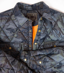 Quilted Camo Shirt Jacket - jachs