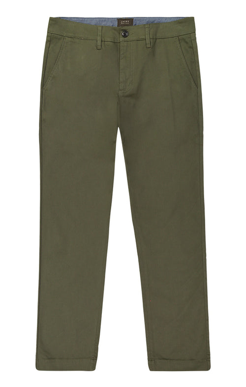 Forest Green Bowie Stretch Chino Pant - jachs