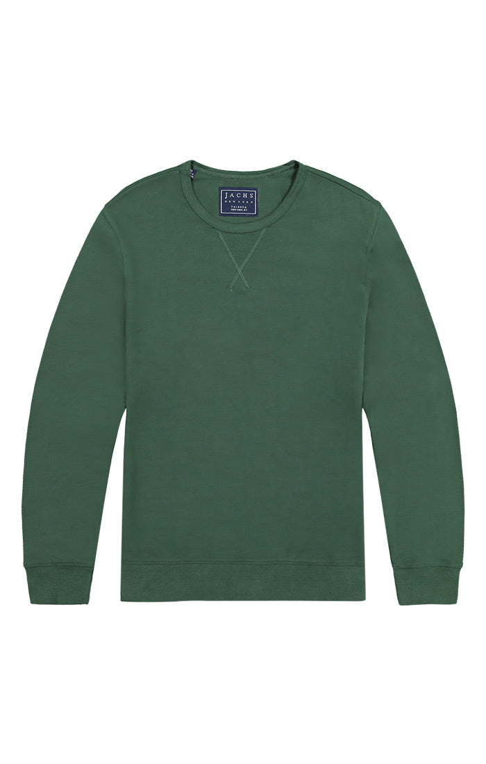 Sycamore French Terry Varsity Crewneck - jachs
