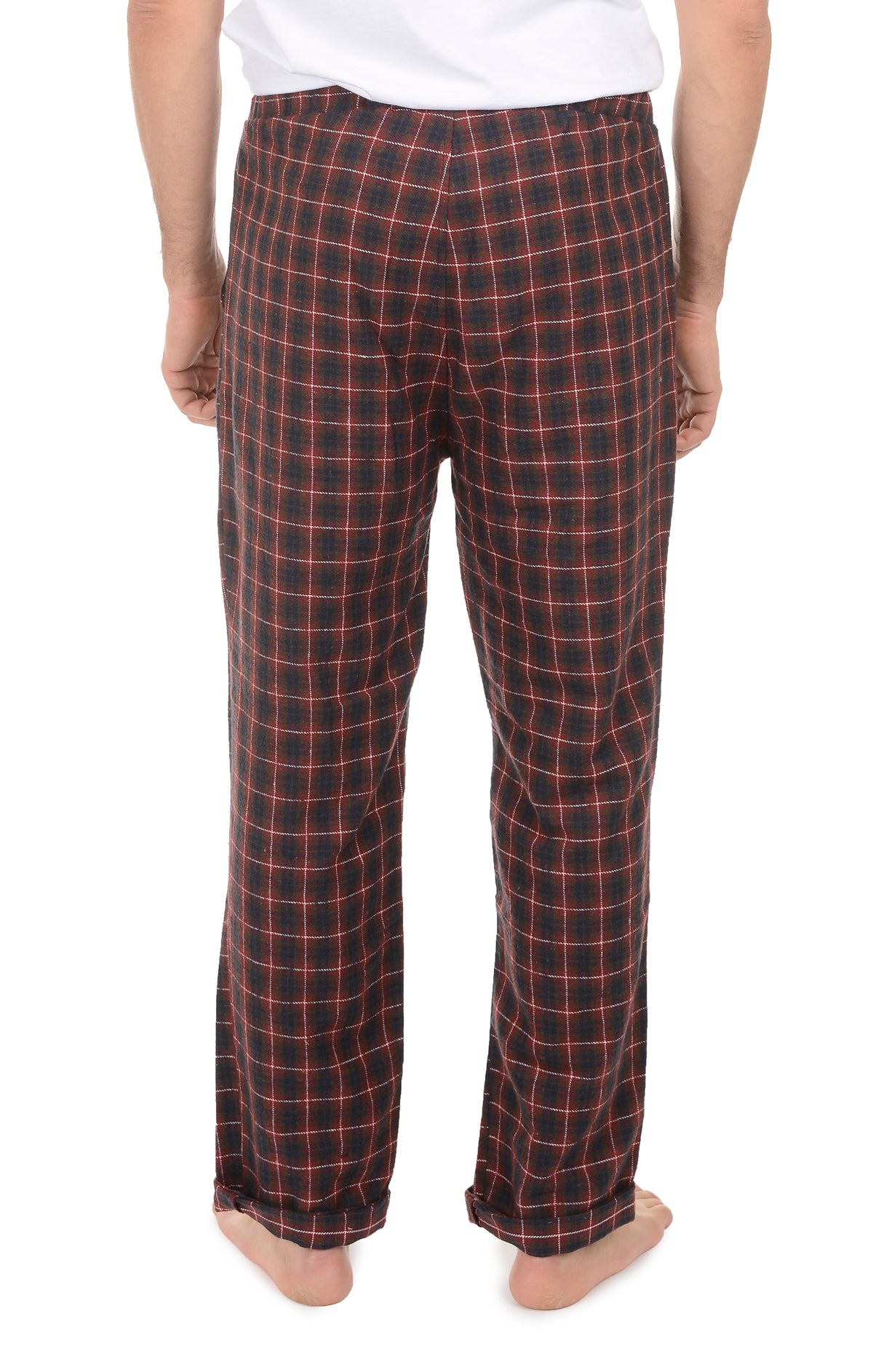 Red Check Flannel Pajama Pant - jachs