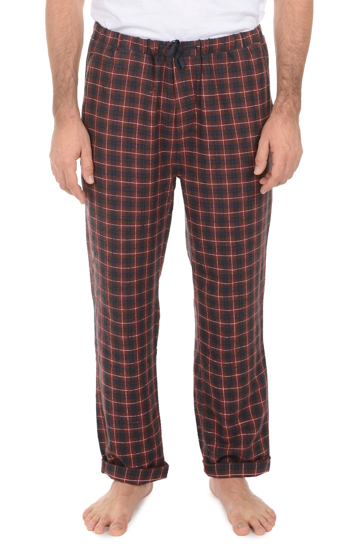 Red Check Flannel Pajama Pant