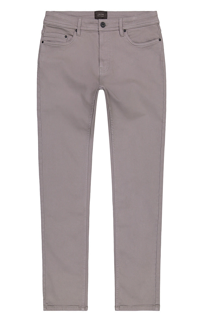 Grey Stretch Traveler 5 Pocket Pant