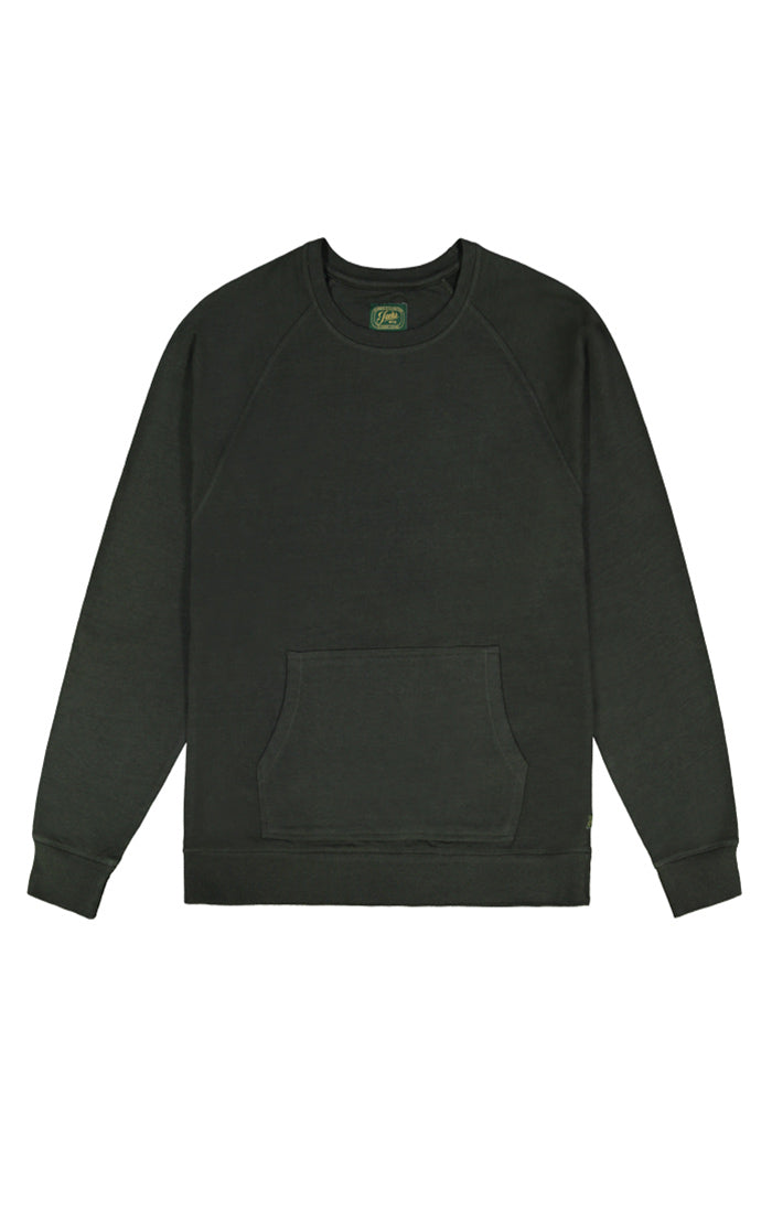 Green Fleece Crewneck Sweatshirt - jachs