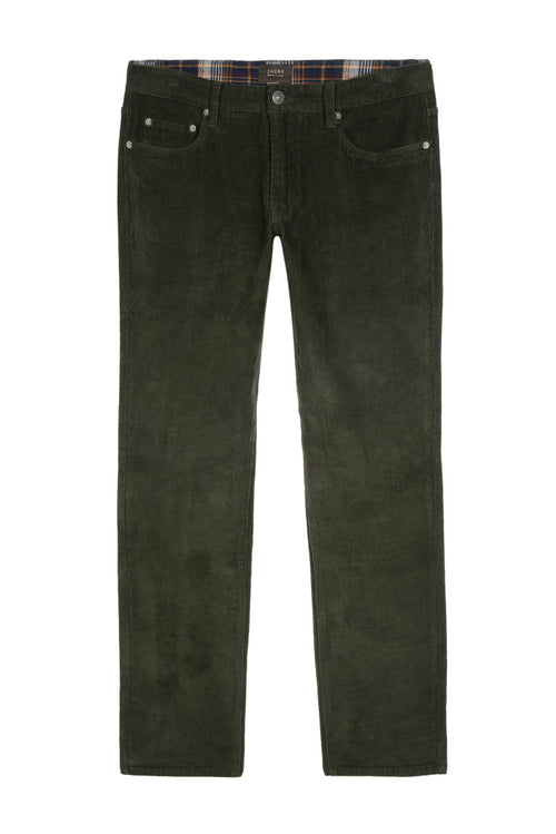 Forest Green Stretch Corduroy Pant
