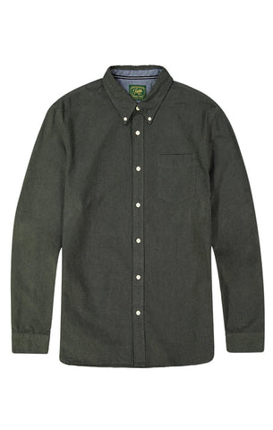 Grey Slub Chambray Shirt