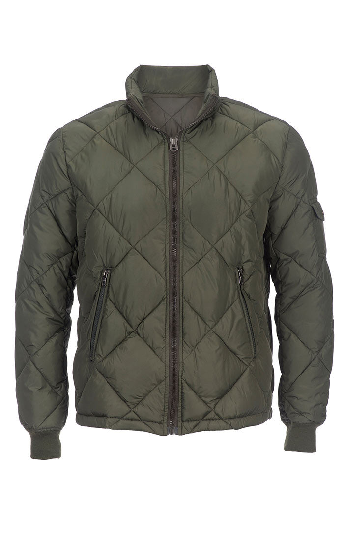 Quilted Puffer Jacket - jachs