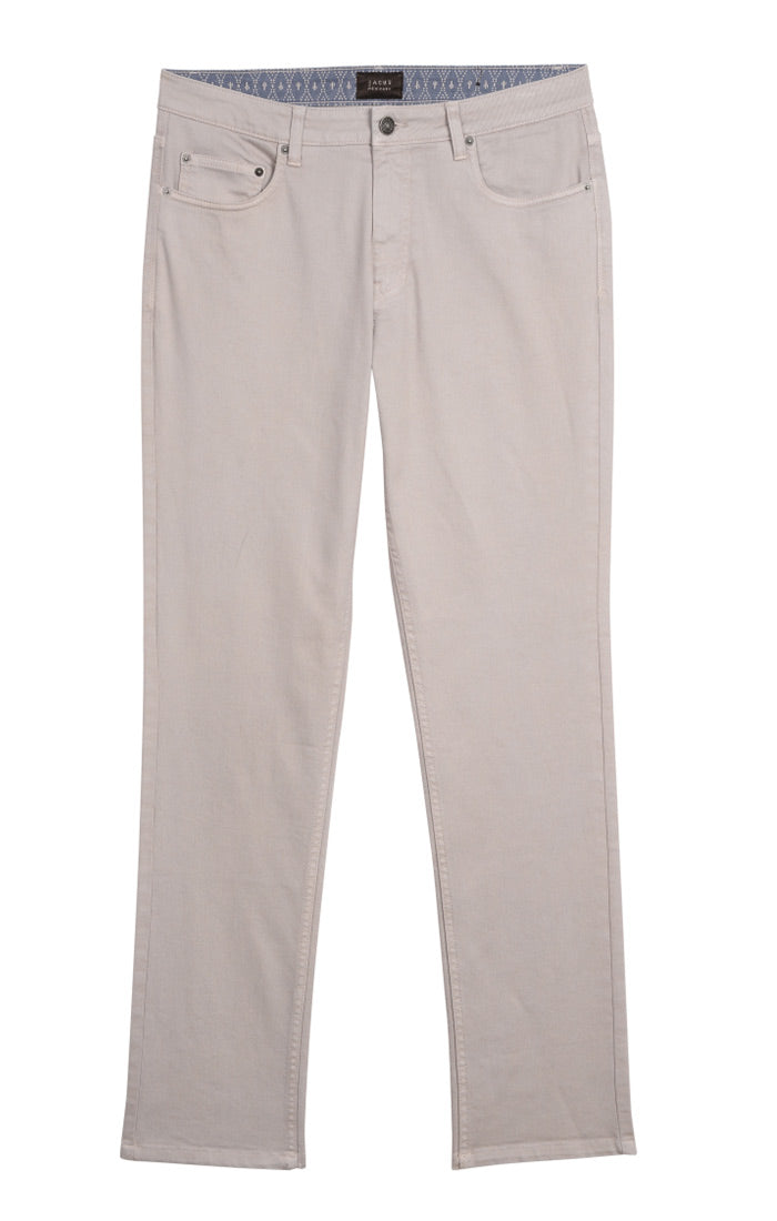 Light Stone Straight Fit Stretch Twill Pant - jachs