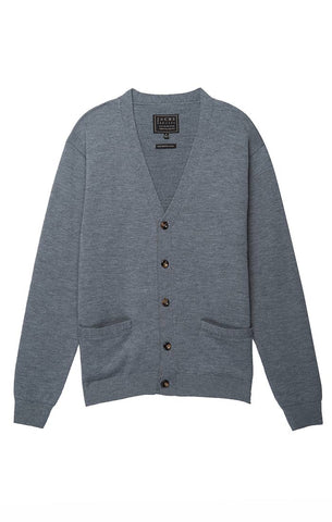 Heather Grey Wool Blend Jacket