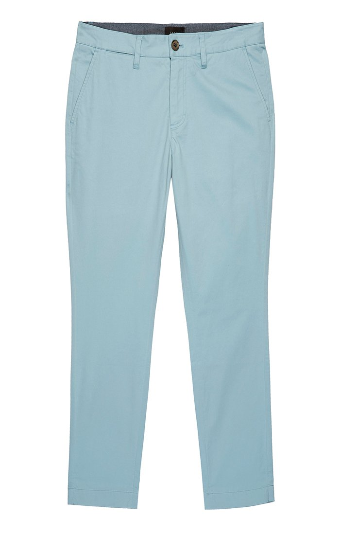 Electric Blue Bowie Stretch Straight Chino Pant - jachs