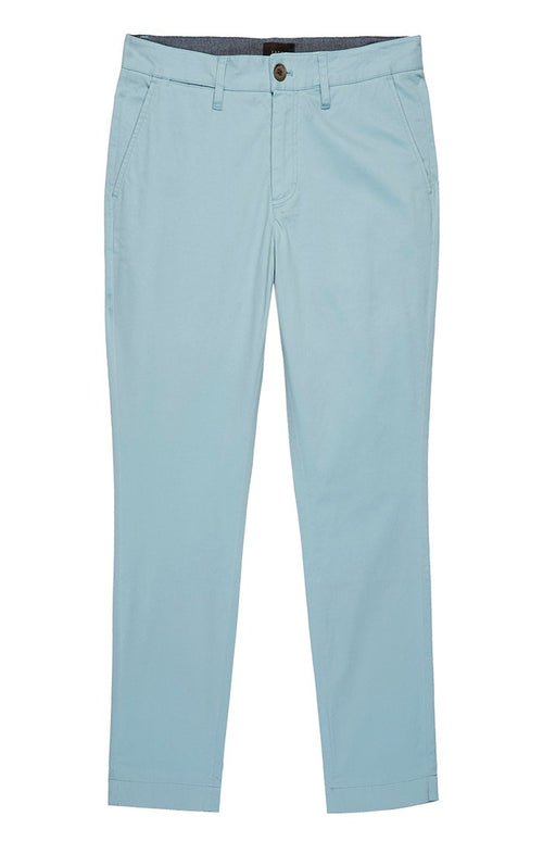 Light Blue Bowie Stretch Chino Pant - jachs