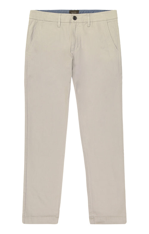 Light Grey Bowie Stretch Chino Pant - jachs