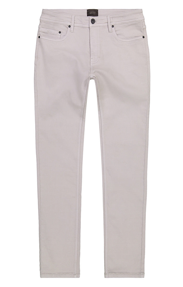 Light Grey Stretch Traveler 5 Pocket Pant