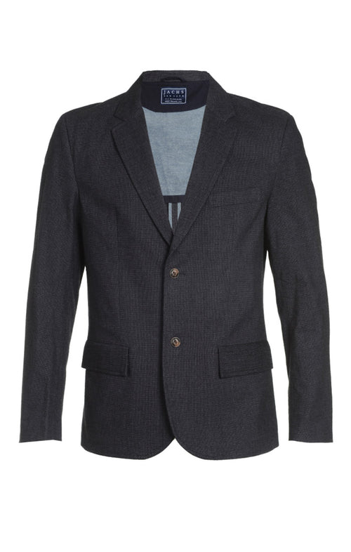 Micro Stretch Herringbone Blazer
