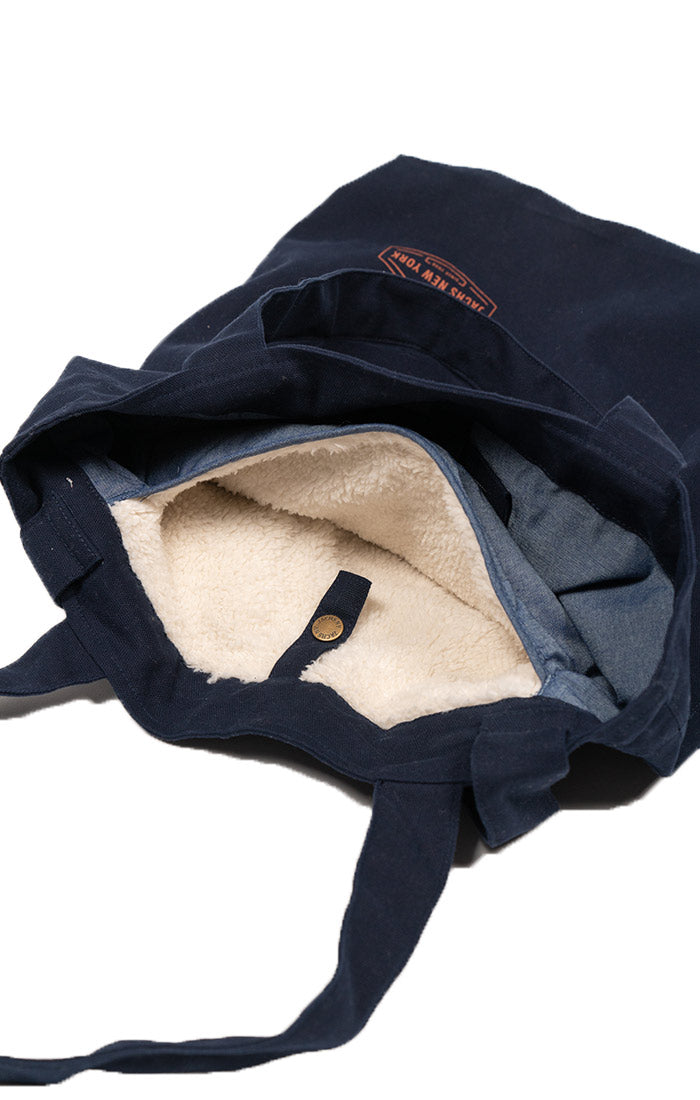 Navy Canvas 3-Way Bag