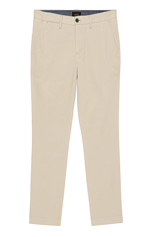 Off White Bowie Fit Strech Cotton Chino
