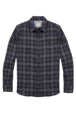 Indigo Plaid Workshirt