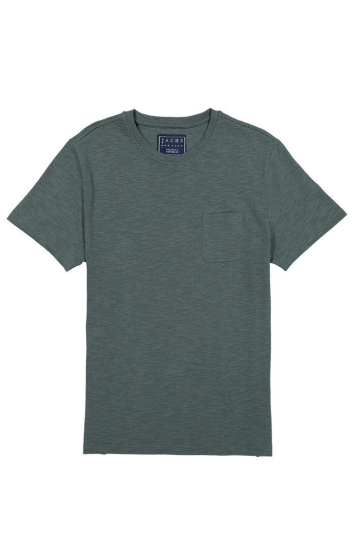 Ponderosa Pine Slub Cotton Pocket Tee