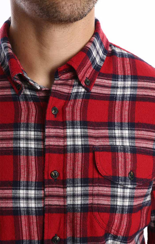 Red Flannel Shirt - jachs