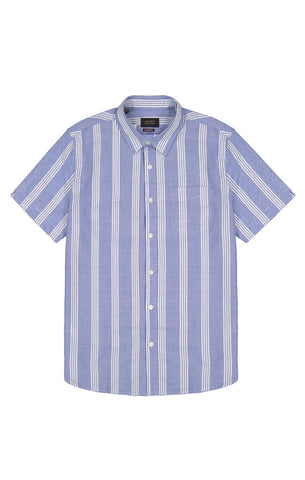 White Stripe Short Sleeve Shirt