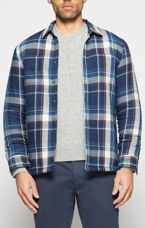 Plaid Sherpa Lined Flannel
