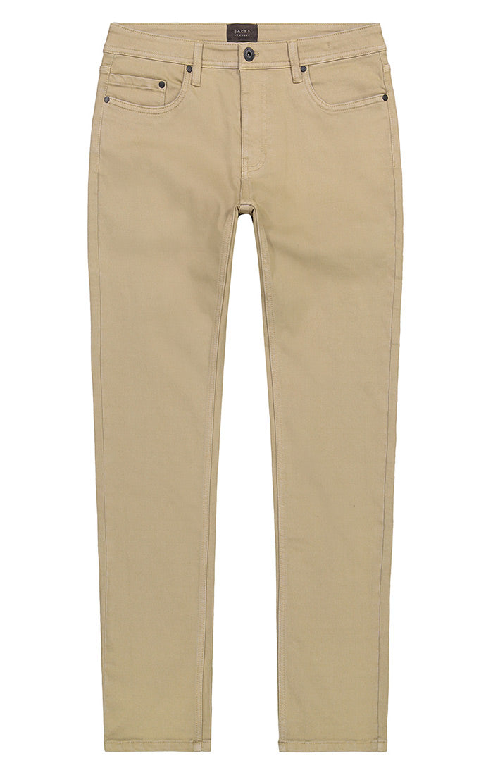 Tan Stretch Traveler 5 Pocket Pant