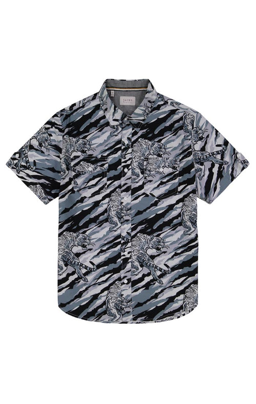 Tiger Stripe Short Sleeve Shirt - jachs
