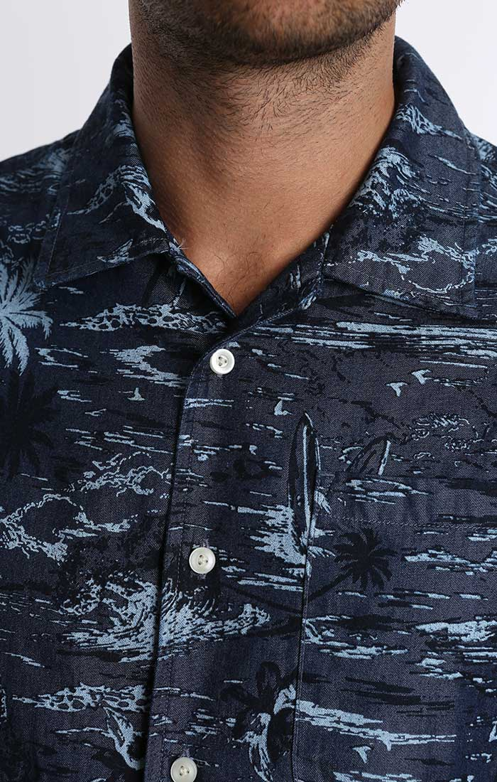 Tropic Print Short Sleeve Shirt