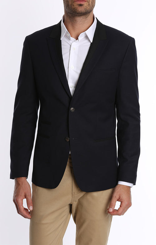 Two Toned Tuxedo Jacket