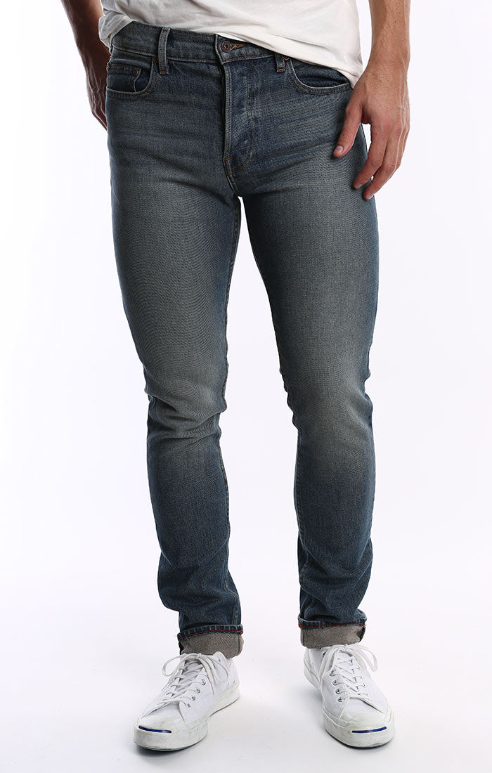 Made in USA Denim - Well Fleet Wash Stretch - jachs