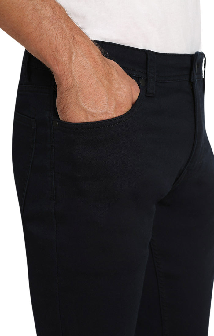 Black Stretch Traveler 5 Pocket Pant