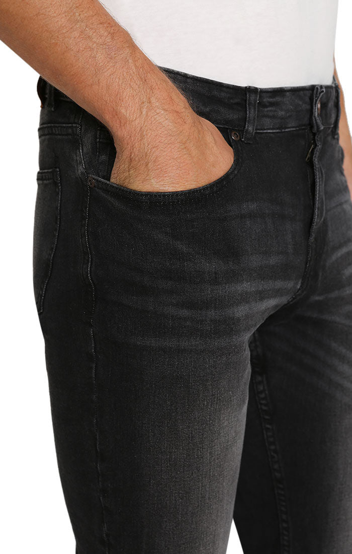 Charcoal Washed Ultra Stretch Denim